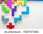 abstract background. different... | Shutterstock . vector #558747382