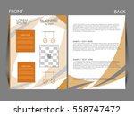 vector business flyer  magazine ...   Shutterstock .eps vector #558747472