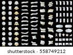 ribbon label banner silver... | Shutterstock .eps vector #558749212