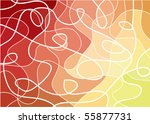 abstract geometric mosaic... | Shutterstock .eps vector #55877731
