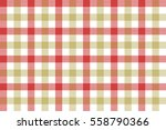 Red Beige Check Fabric Texture...