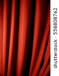 red closed curtain with light... | Shutterstock . vector #558808762