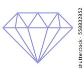 vector illustration of diamond... | Shutterstock .eps vector #558832852