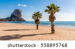 calpe   costa blanca   spain | Shutterstock . vector #558895768