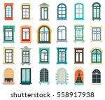 Retro Wood Or Wooden Window...