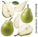 Green Pear Pieces Set...