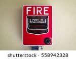 fire box alarm | Shutterstock . vector #558942328
