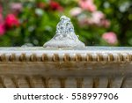 fountain. roses on a background. | Shutterstock . vector #558997906
