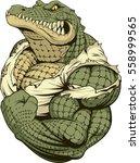 vector illustration  a... | Shutterstock .eps vector #558999565