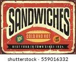 retro food sign design for... | Shutterstock .eps vector #559016332