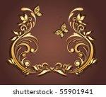 vintage retro frame | Shutterstock .eps vector #55901941