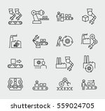 production vector icons | Shutterstock .eps vector #559024705