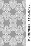 modern floral pattern of... | Shutterstock . vector #559026412