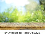 empty table for display montages | Shutterstock . vector #559056328