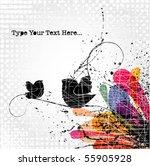 vector grunge background | Shutterstock .eps vector #55905928
