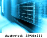 stand with server hardware and... | Shutterstock . vector #559086586