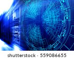 modern web network and internet ... | Shutterstock . vector #559086655