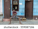 trinidad   cuba  march 2015  a... | Shutterstock . vector #559087186