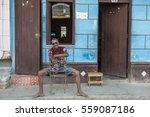 trinidad   cuba  march 2015  a... | Shutterstock . vector #559087186