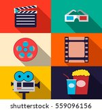 set of movie design elements...