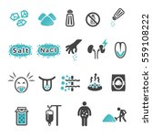 salt icon | Shutterstock .eps vector #559108222