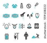 salt icon | Shutterstock .eps vector #559108222