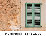 green window shutters and... | Shutterstock . vector #559112392