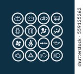 car dashboard icon   Shutterstock .eps vector #559125262