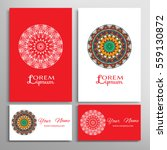 mandala sign symbol  colorful... | Shutterstock .eps vector #559130872