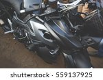 motorcycle close up | Shutterstock . vector #559137925
