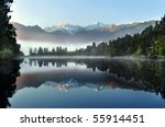 Reflection Of Lake Matheson