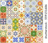 seamless pattern with with... | Shutterstock .eps vector #559151686