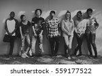 friends people group teamwork... | Shutterstock . vector #559177522