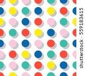 retro memphis geometric line... | Shutterstock .eps vector #559183615