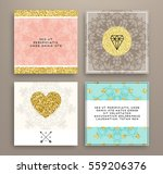 wedding invitation card or... | Shutterstock .eps vector #559206376
