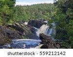 Roggie Falls In Scotland