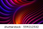 abstract wave fractal... | Shutterstock . vector #559212532
