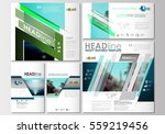 social media posts set.... | Shutterstock .eps vector #559219456