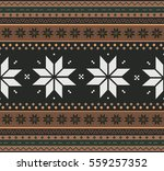 winter holiday sweater design... | Shutterstock .eps vector #559257352