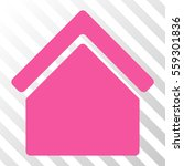 pink home toolbar pictogram.... | Shutterstock .eps vector #559301836