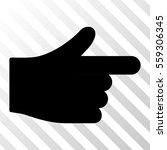 black index hand interface...
