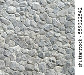 gray stone wall texture and... | Shutterstock . vector #559322542