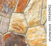 brown stone wall texture and... | Shutterstock . vector #559343902