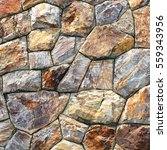 brown stone wall texture and... | Shutterstock . vector #559343956