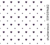 seamless heart pattern... | Shutterstock .eps vector #559359682