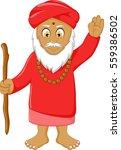 religious leader cartoon for...   Shutterstock .eps vector #559386502