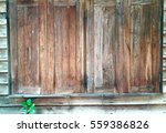 old wood window backround | Shutterstock . vector #559386826