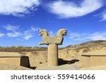 Sculpture Of Achaemenid Griffi...
