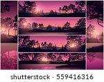 set stock vector illustration... | Shutterstock .eps vector #559416316