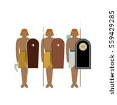 egyptian soldiers with guns....   Shutterstock .eps vector #559429285